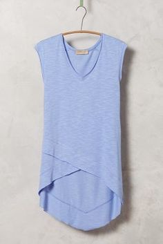 Anthropologie Crossover Tunic Tee #anthrofave