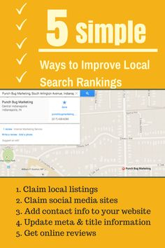 5 Incredibly Simple Ways to Improve Your Local Search Rankings