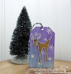 The 25 Days of Christmas Tags Just One More - Day 26 25 Days Of Christmas, Christmas Tag, Xmas, Bucket Bag, Creative, Cards, Yule, Navidad, Pouch Bag