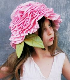 Tea Party Hat Easter Hat For Little Girls By