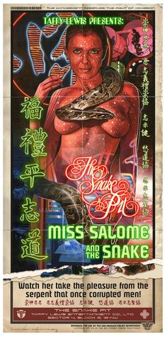 Zhora - Miss Salome and the Snake by Mark Raats