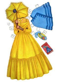 Paper Dolls~QH Century Dolls - Bonnie Jones - Picasa Web Albums