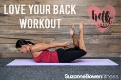 Here is a quick mat workout to target the back of the body!