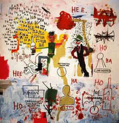 Jean-Michel Basquiat : American Artist ( 1960 - 1988 ) More At FOSTERGINGER @ Pinterest