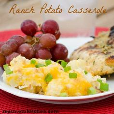 Ranch Potato Casserole - Real Mom Kitchen