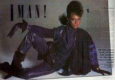 IMAN, Essence Magazine  ~ 1983