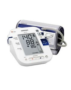 #Omron #M10-IT #Upper Arm #Blood #Pressure #Monitor #448 #Advantage card #points. The #Omron #M10-IT #fully #automatic #blood #pressure #monitor #features #special #tracking #memory for #morning and #evening #measurements. #Always read the pack #information. Box #contains one set of #batteries. FREE #Delivery on #orders over 45 GBP. #(Barcode EAN=4015672102668)