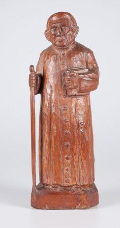 Mestre Noza. Padre Cícero. 30 cm