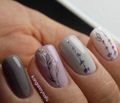 Air nails, April nails, Delicate spring nails, Fresh nails, Ideas of colorful nails, Nails with petals, Pastel nails, Spring nail art