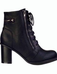 Spurr Liz Lace-Up Ankle Boots