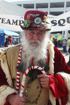 steampunk santa claus | Steampunk Santa