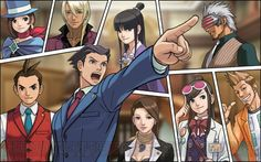 Ace Attorney - my favorite lawyer game of all time. incredible story