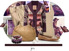 """Comfy Cardi"" by jenniemitchell ❤ liked on Polyvore"