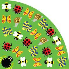Back to Nature Bug Kids Rug