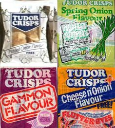 Tudor crisps the Tuxor crisp factory was about 5 mile away from us in Peterlee