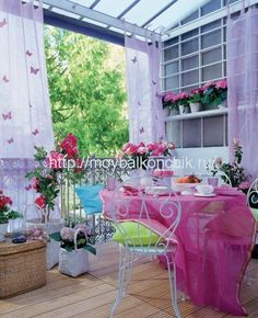 лоджия в стиле прованс - Поиск в Google Interior Balcony, Getting Cozy, Small Spaces, Indoor, Chair, Google, Diy, Furniture, Home Decor