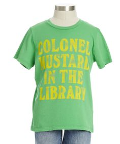 Colonel Mustard Tee - new arrivals | Peek Kids Clothing
