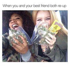 Buy Marijuana Online I Buy Weed online I Buy Cannabis online I Edibles Weed Memes, Weed Humor, Stoner Humor, Best Friend Goals, My Best Friend, Bff Goals, 420 Girls, Weed Girls, Bffs