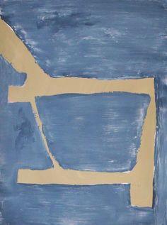 "Brian Coleman, ""Chair Detail #8"", Mixed Media on Paper, 16x12 - Anne Irwin Fine Art"