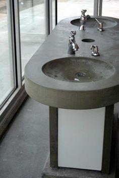 Custom Bathroom Designs Urban Concrete Countertops