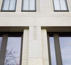 Architektur mit Naturstein: Weg von den glatten Fassaden, hin zu mehr Gestaltung mit Reliefs und Ornamenten