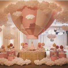 Balloon Decor Ballon-Dekor Source by . Deco Baby Shower, Baby Shower Balloons, Shower Party, Baby Shower Parties, Baby Shower Themes, Shower Ideas, Paris Theme Baby Shower, Girl Baby Showers, Baby Shower Balloon Decorations