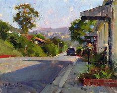 Hillcrest Drive by Jennifer McChristian Oil ~ 8 x 10