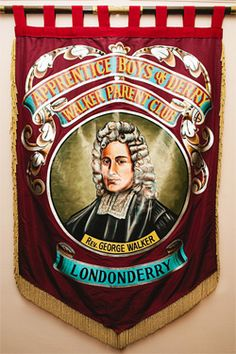 My 9th gr grandfather, Governor George Walker of Londonderry.  If he had survived the Battle of the Boyne, he would have been made the Bishop of Londonderry.