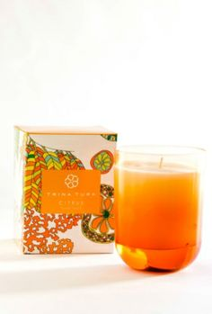 Trina Turk Citrus Candle  <3 my favorite candle, and they are out of stock ;(