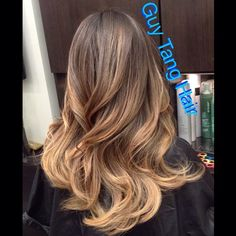Champagne blonde ombre #hairstyle #ombrehair
