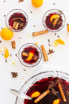 Hot spiced wine reci