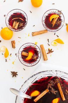 Hot spiced wine reci