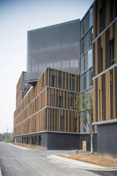Image 17 of 24 from gallery of Nanjing Hongfeng Technology Park, Building A1 / One Design. Photograph by Hou Zhiwei
