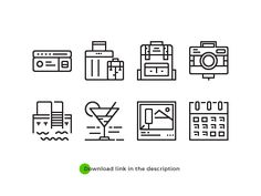 Free File - Smartline Icons - Concept of Travel by ICON 1