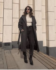 Cold Weather Outfits, Warm Outfits, Fall Winter Outfits, Cute Outfits, Love Fashion, Winter Fashion, Fashion Outfits, Latest Outfits, School Fashion