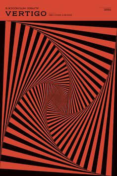 Vertigo Poster by Nathan Godding, via Flickr