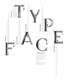 AVANTH typeface by Noem9 Studio , via Behance