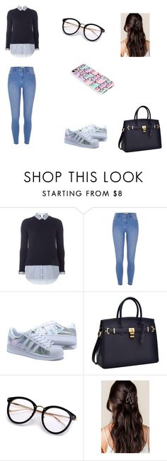 """School look"" by believe-dream-and-love on Polyvore featuring mode, Dorothy Perkins, River Island et Pusheen"