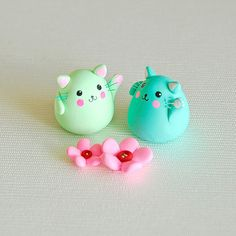 Cute cats. polymer clay