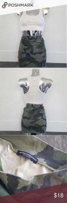 Army Camo Melville Mini Never Worn Brandy Melville Skirts Mini