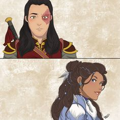 Prince Zuko entranced by Katara's beauty at first sight from Avatar The Last Airbender A little place for all my fan art. Zutara is my never-ending muse. Character Design, Character Art, Animation, Anime, Avatar Airbender, Cartoon, Fan Art