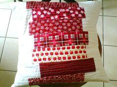 Tuto : un coussin facile en patchwork