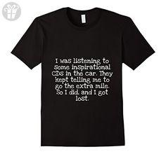 Mens Inspirational Mile Joke Tshirt Dad Gift Funny Hilarious Pun Large Black - Funny shirts (*Amazon Partner-Link)