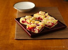 Fruit Swirl Coffee Cake - made these for Mother's Day with Comstock cherry pie filling (Comstock has confirmed their fruit fillings only are gluten free) - definitely will be making again soon!