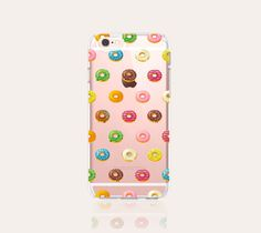 Donut iPhone 6s Case Clear iPhone 6s Plus Case by casesbycsera