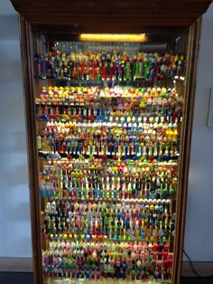 Worlds largest Pez dispenser collection.  Baltimore's museum of visionary art.