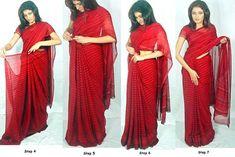 Porter un sari