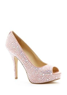 Anything pink and that has sparkles will always catch my attention!!