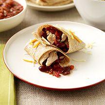 Weight Watchers - Slow Cooker Chicken Burritos - 5 Points Plus