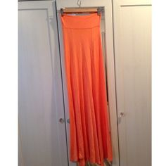 Free Add On to any purchase really cute matches with a long boho necklace and cardigan! ☺️ The skirt is peach colored. Skirts Maxi
